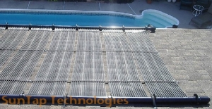 solar hot water pool green