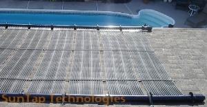 solar hot water pool green